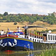 Hotel Barge L'Impressionniste Cruising in Burgundy