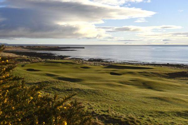8th par 4 Championship Course,Royal Dornoch,Scotland.