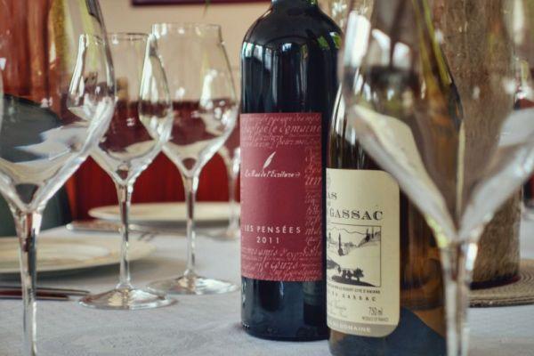 Fine wines aboard Luxury barge cruise Anjodi