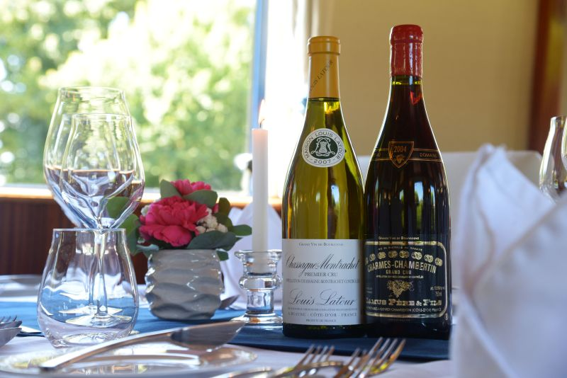 La Belle Eqoque serving som e of the best Burgundy Wines