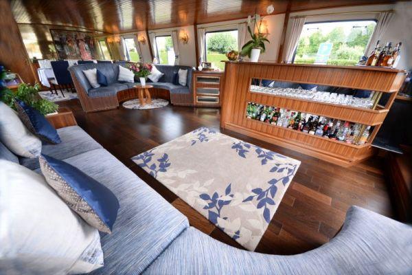 Saloon aboard La Belle Epoque