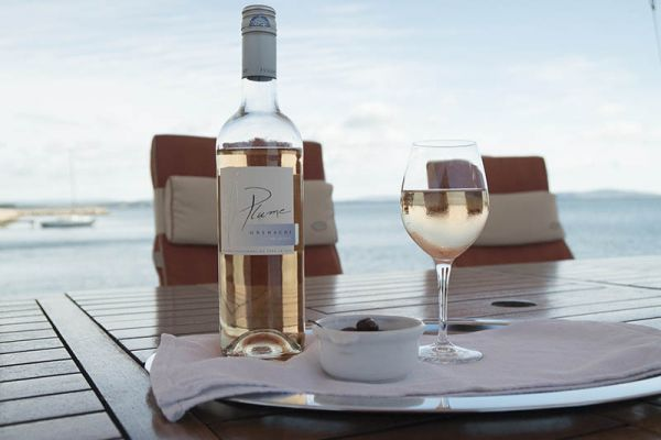 Enjoy fine wines aboard luxury hotel barge, Athos