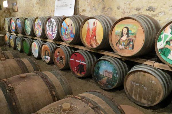 Wine Cellar at Perdiguier