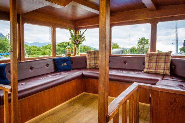 Scottish Highlander Observation Deck