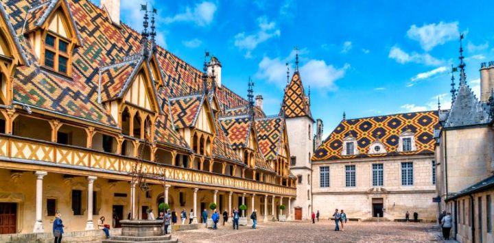 Hôtel-Dieu de Beaune Burgundy France