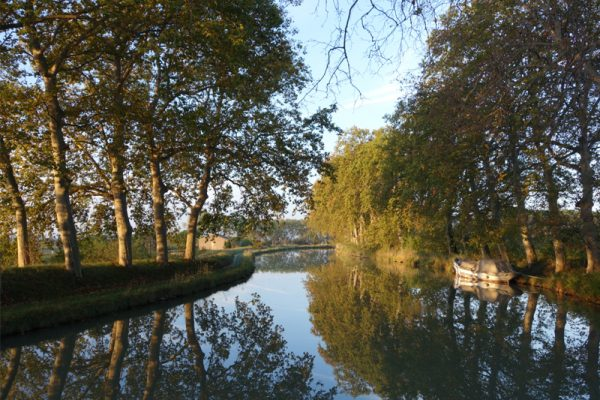 The historic Canal du Midi