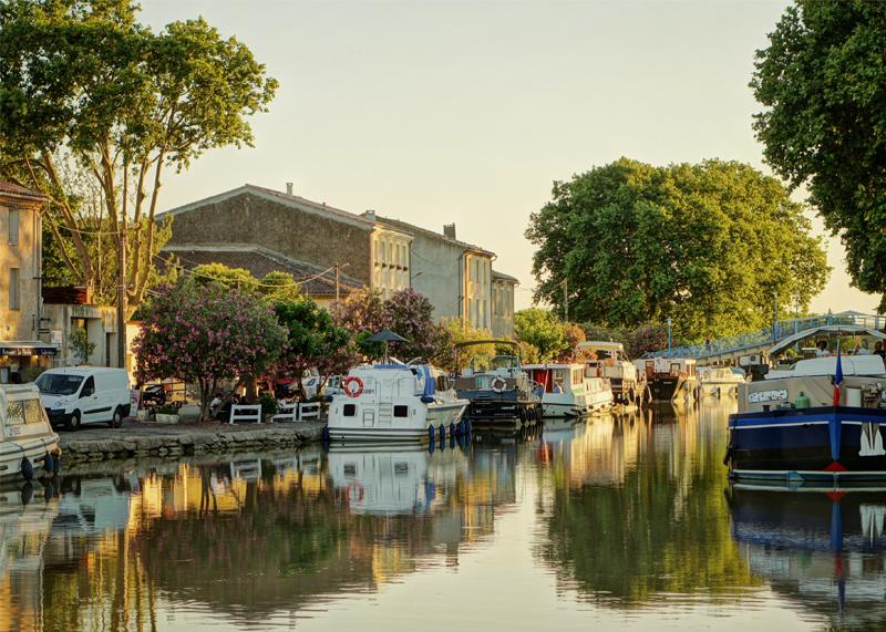 Canal du Midi Homps