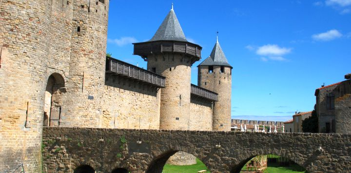 Carcassonne in the Midi