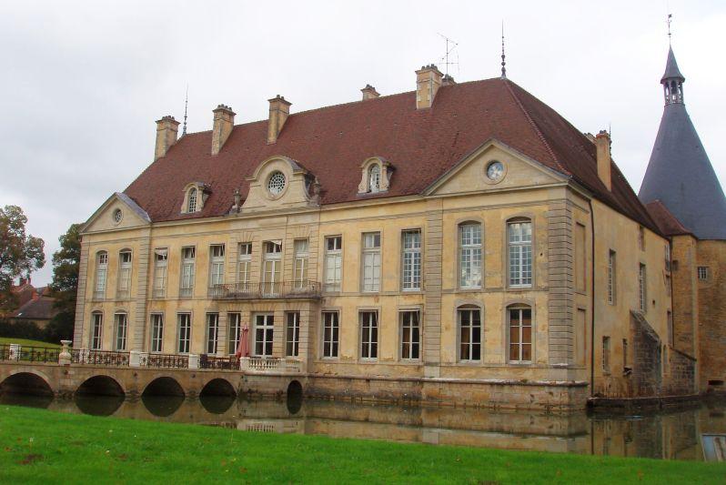 Château de Commarin Burgundy France