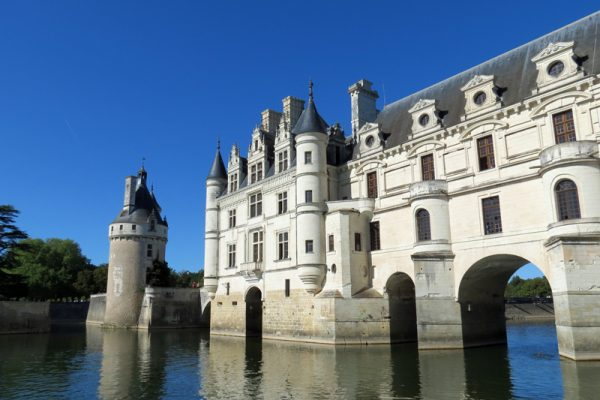 Cruise under this magnificent during your loire valley cruise in the Loire Valley