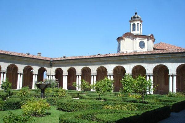 Ducal Palace Gardens at Mantua