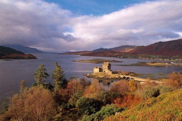 Eilean Donan Castle Heather