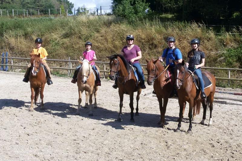 Family Horse Riding