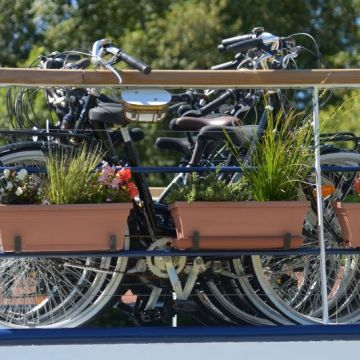 Bikes aboard La Belle Epoque