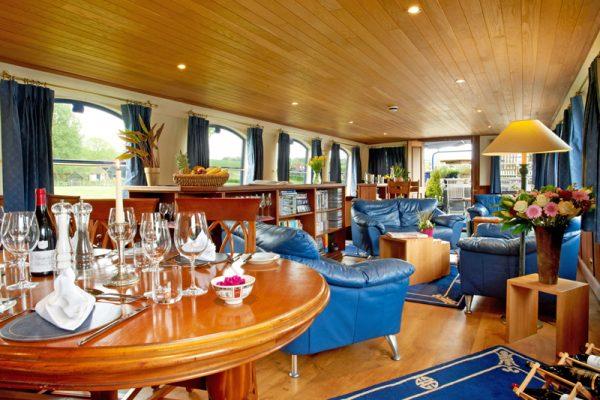 Magna Carta Barge Dining Saloon
