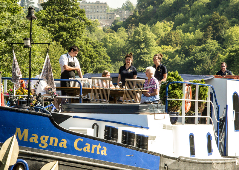 Magna Carta Barge - Deck