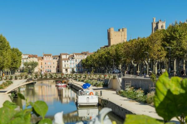 Canal du Midi - Narbonne is a commune in southern France