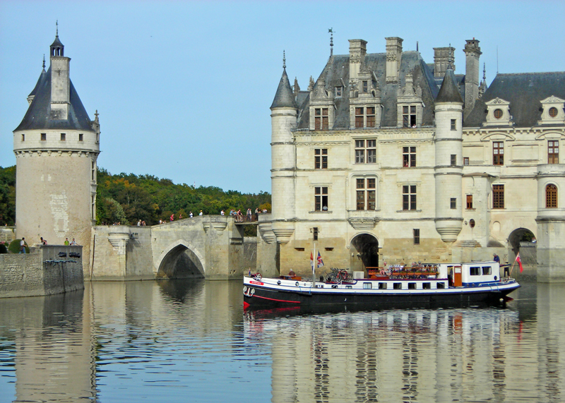 Nymphea cruising on the River Loire in the Loire Valley