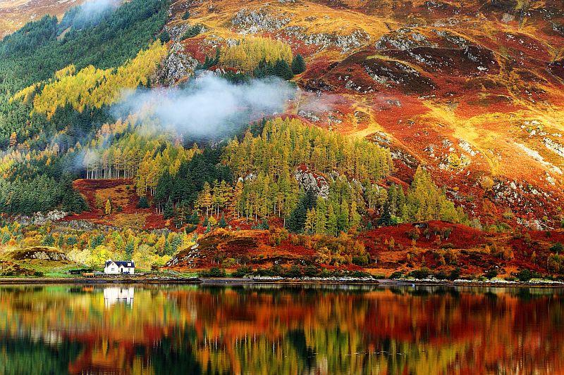 Scotland in the autumn months