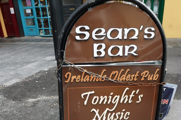 Visit Sean's Bar on a Ireland River Cruise