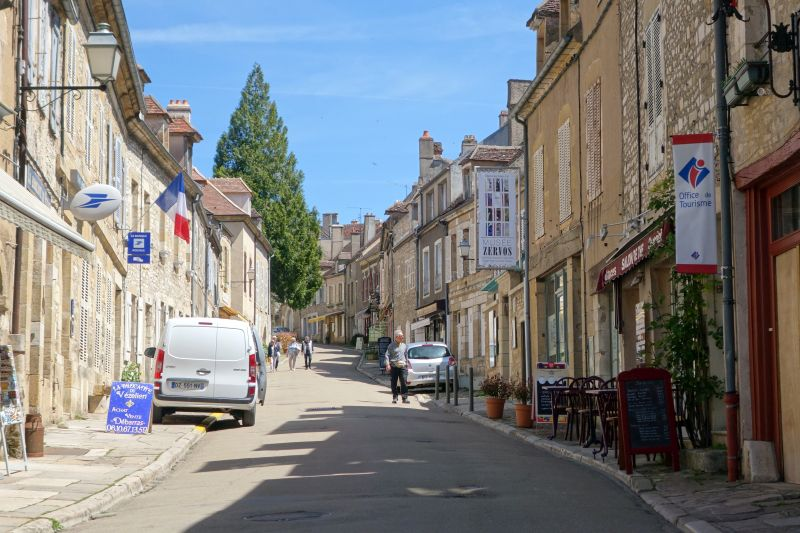The streets of Vezelay