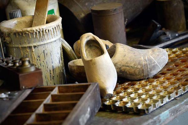 Clog making workshop at Zaanse Schans