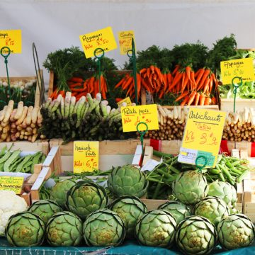 Artichoke Stall Market