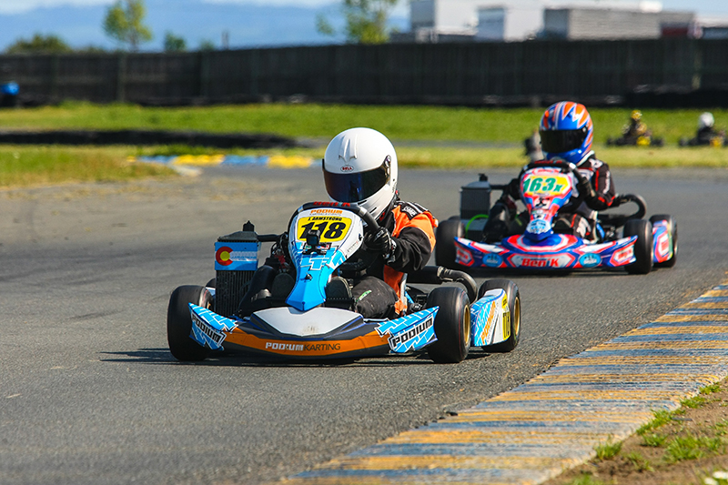 Go karting is a popular activity on our family itineraries
