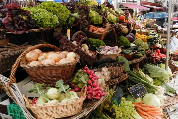 market vegies