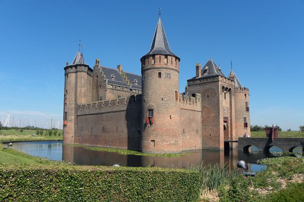 Muiden Castle in the Netherlands