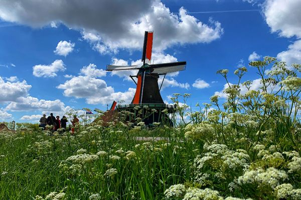 Visit Zaanse Schans aboard luxury barge cruise, Panache as she cruises Holland