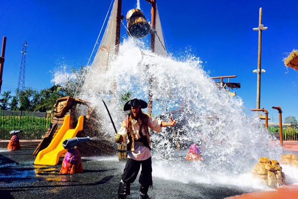 Pirateland - fun for kids of all ages near Marseillan