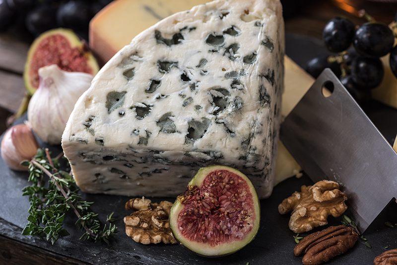 A classic French cheese, Roquefort can be found on a number of European Waterways luxury barge cruise menus