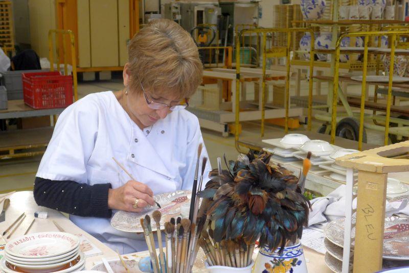 Gien Pottery Painter