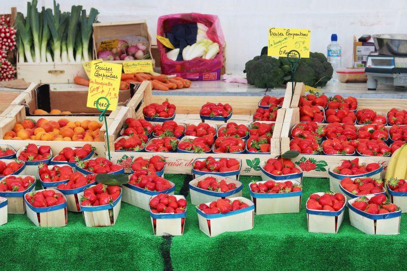 Gien Fruit Market