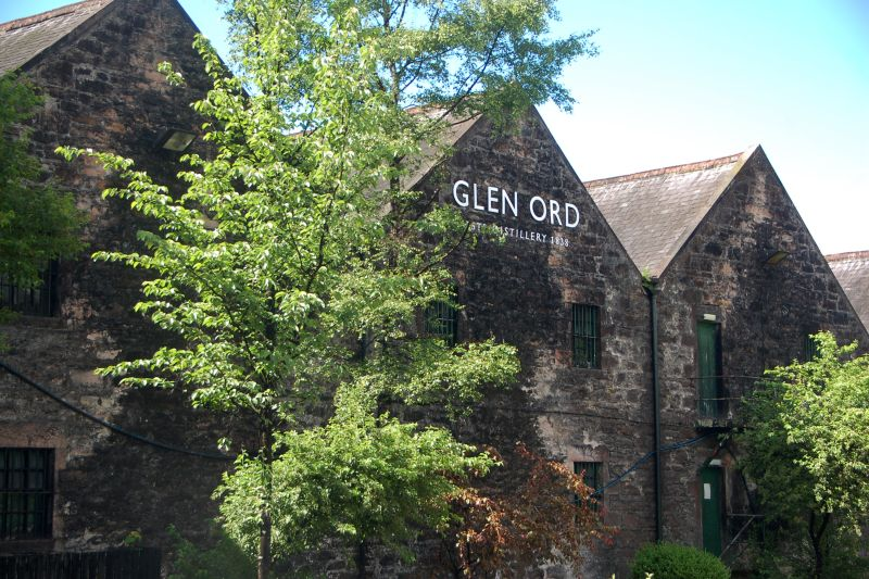 Scotland Glen Ord Distilery