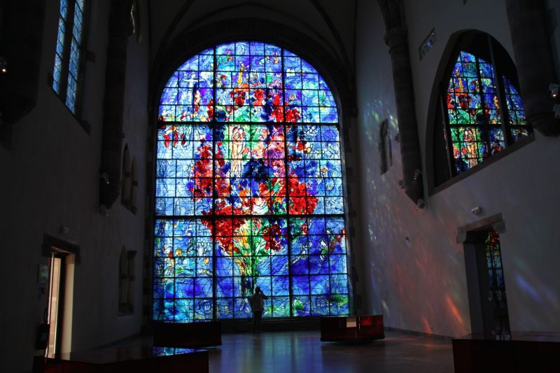 Alsace Chagall Window - French River Cruises