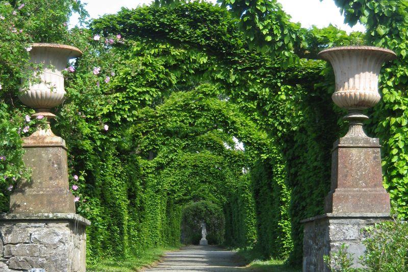 Irish Castles - Birr Castle Archway