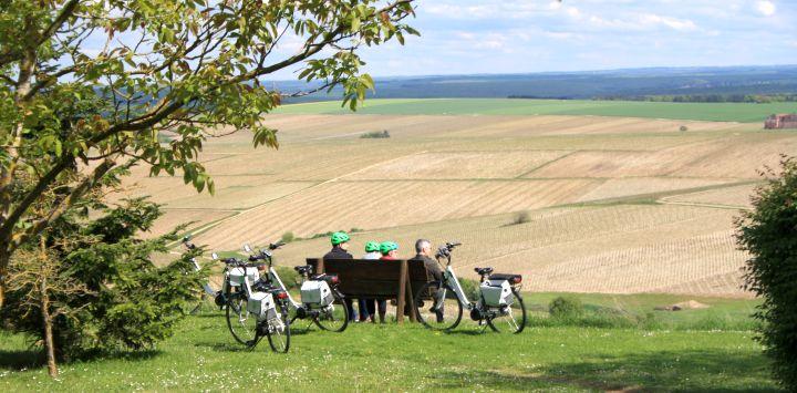 Biking Chablis
