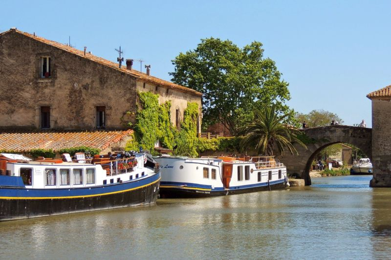 Canal du Midi - Le Somail