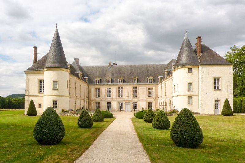 Chateau de Condé in the Champagne Region