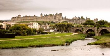 Why take a trip to France? - Carcassonne from the Canal