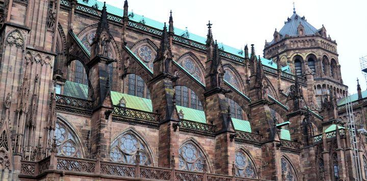 Strasbourg Cathedral Side On