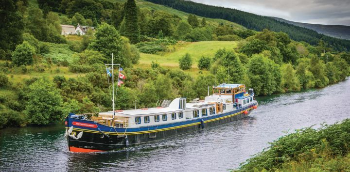 Caledonian Canal - Highlander Cruising