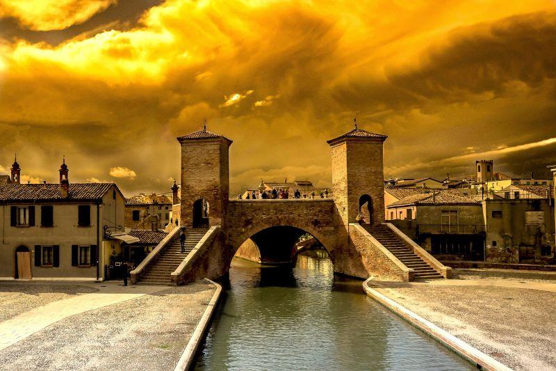 Ferrara Bridge - Bianco Canal