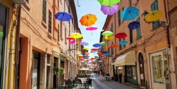Ferrara Street Decorations