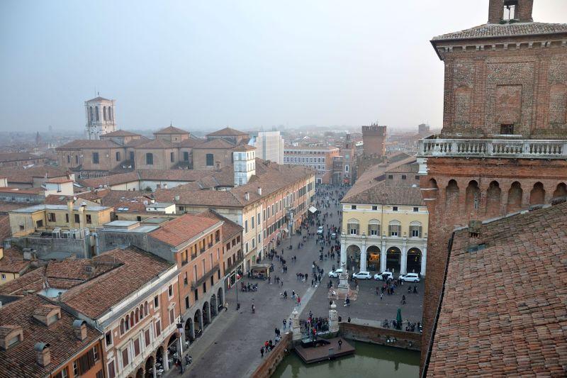 Ferrara from Above