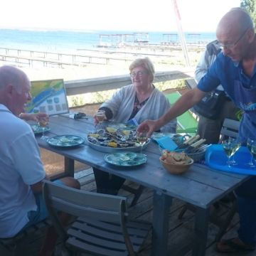 Oyster Tasting in the Languedoc aboard a French Barge Cruise