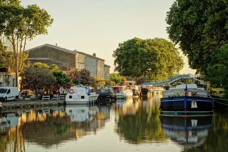 Homps - A medieval town that's part of your Canal du Midi holiday