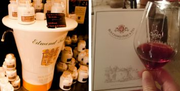 French Mustard Stand and Wine Tasting